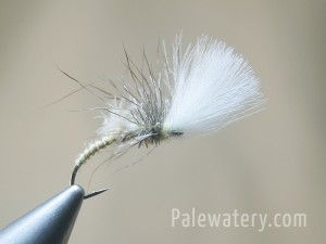 Mayfly Shuttlecock